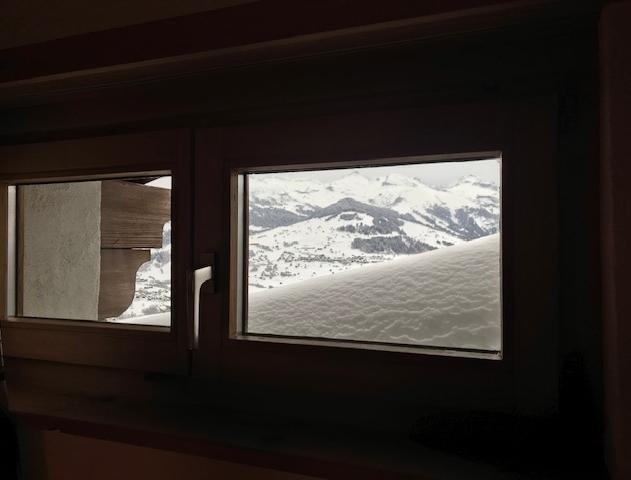 Blick aus Schlafzimmerfenster